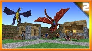 Minecraft 1.8 Dragon Village Raids! Community Suggestions Episode #2