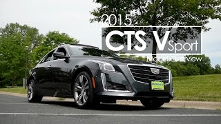 2015 CTS Vsport  | Review | Test Drive