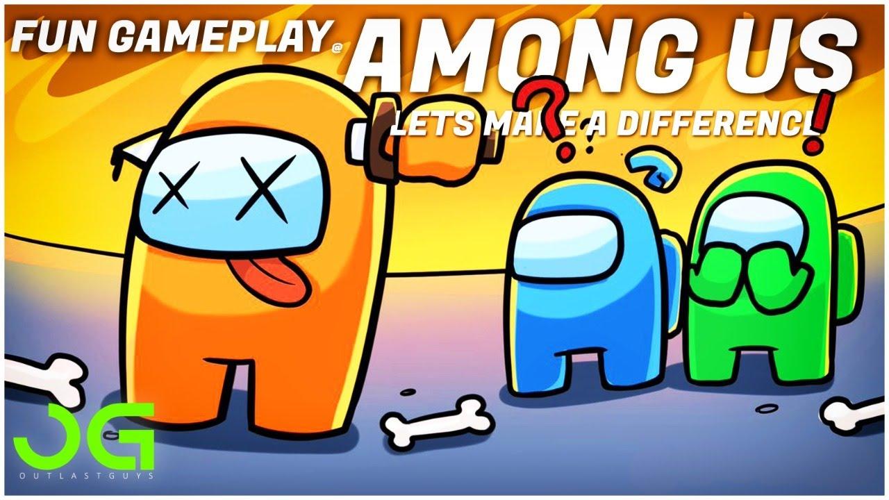 AMONG US funny gameplay-OG