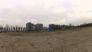 Fluid Kiteboarding  ERL line Test in 3.6 - 4 kts