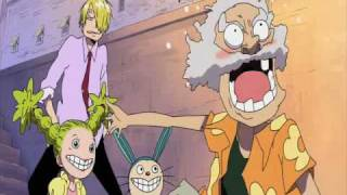 Funny One Piece - Old Man at Water Seven