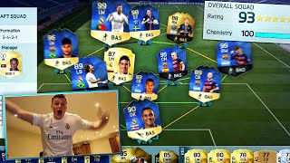 One of CapgunTom's most viewed videos: HOLY SH*T A 193 RATED FUT DRAFT!!!