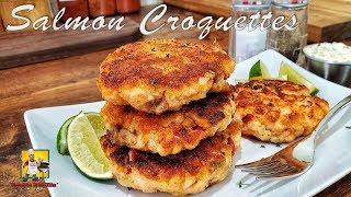 Salmon Croquettes | #BreakfastwithAB | Salmon Patties