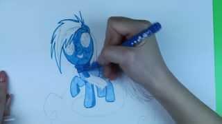 My Little Pony: Рисуем Пони Радуга. Как красиво нарисовать Пони(Нарисовать красиво Пони Радугу совсем не сложно, конечно если ты красиво рисуешь. Я люблю Пони, у меня есть..., 2015-09-08T06:00:00.000Z)