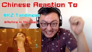 Chinese React to KZ Tandingan- Rolling in the Deep Singer 2018 Episode 5