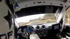 Fivemiletown Spring Rally 2012 Jon Armstrong / Emmet Sherry Stage 7 *GoPro Helmet cam