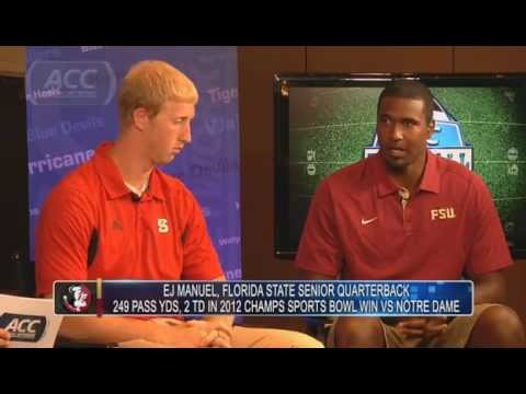 EJ Manuel & Mike Glennon on Playing in the ACC