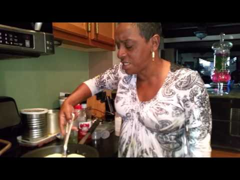 Auntie Fee's Greens and Cornbread