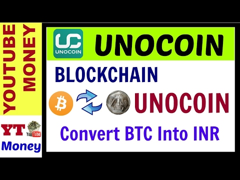 II UNOCOIN II How To Transfer BTC From Blockchain To Bank Account And Buy & Sell Bitcoin