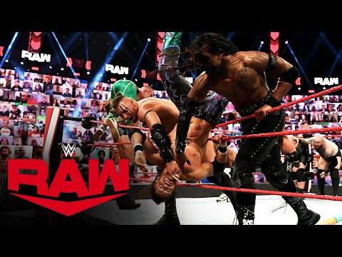 Over the Top Rope Tag Team Battle Royal: Raw, June 7, 2021