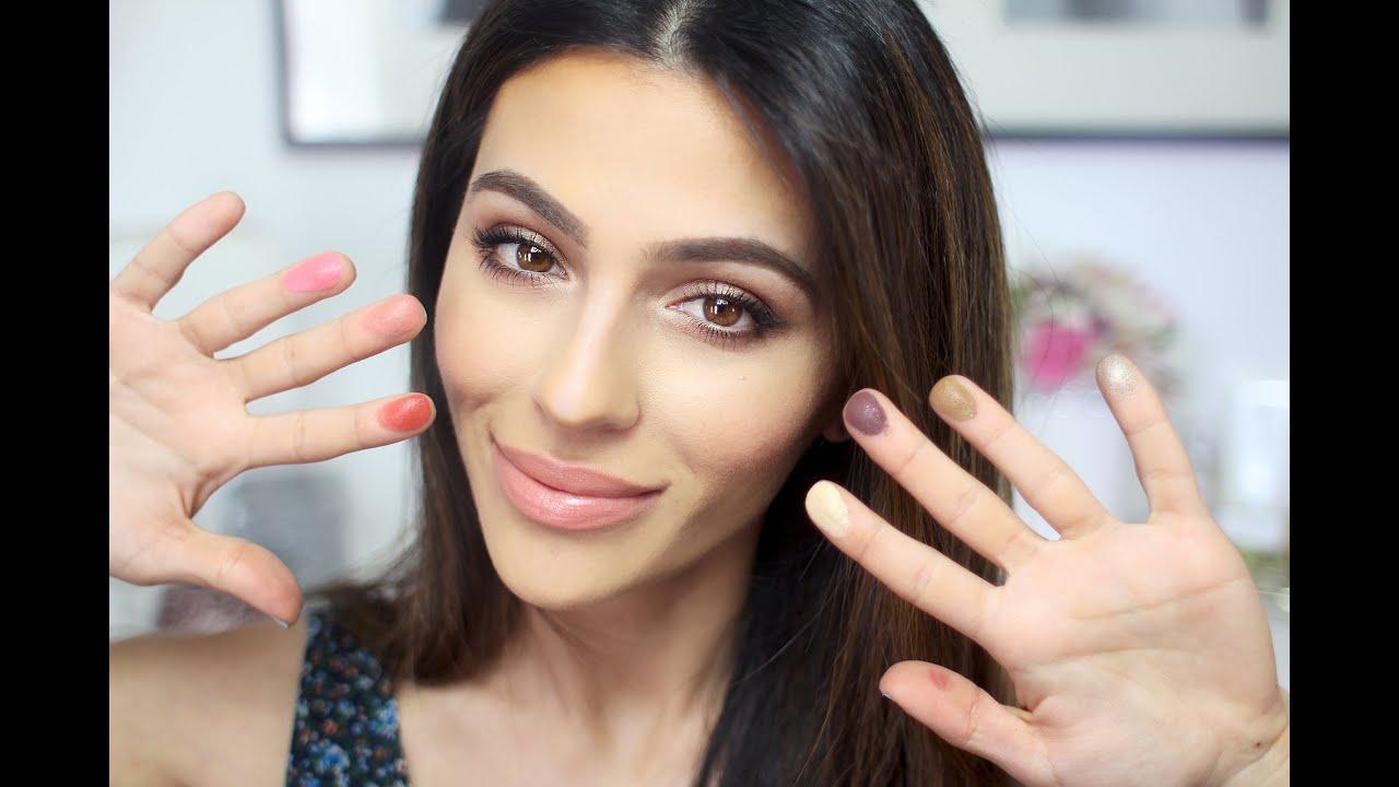 No Brush Makeup Challenge! (everyday Makeup)  Natural Makeup Tutorial   Teni Panosian  Youtube