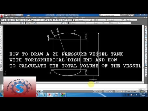 Calculate the Volume of Pressure Vessel