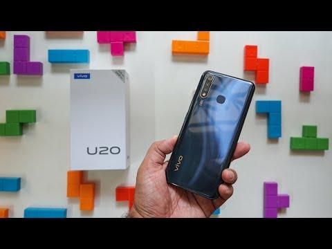 VIVO U20 UNBOXING - 5000mAh Battery, Triple Cameras & Snapdragon 675