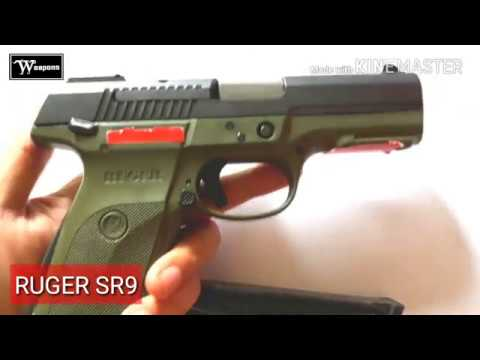 Ruger Sr9 9mm Made In Usa Sr9