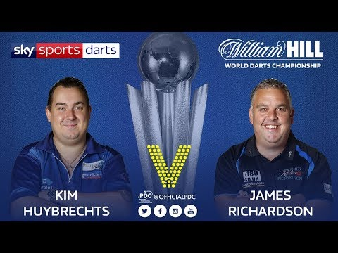 2018 World Darts Championship Round 1 K.Huybrechts vs Richardson