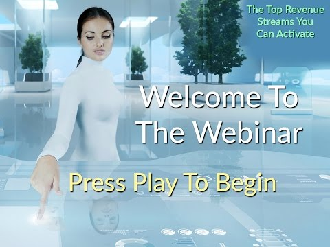 WEBINAR: The Top Revenue Streams You Can Activate Online