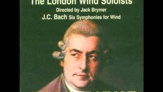 J.C. Bach - Sinfonia No.4 in B flat - IV Cotillion