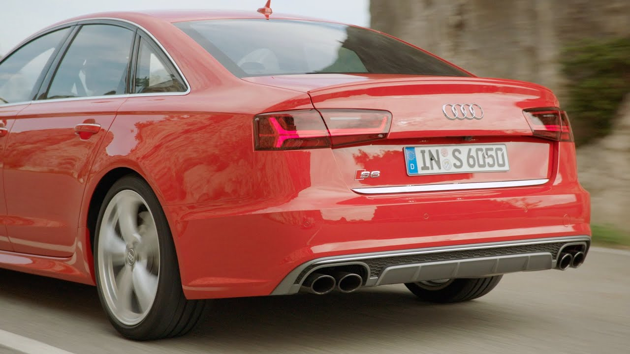 2015 audi s6 sedan test drive good exhaust sound youtube. Black Bedroom Furniture Sets. Home Design Ideas