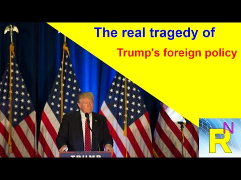 Read Newspaper - The Real Tragedy Of Trump's Foreign Policy: Column