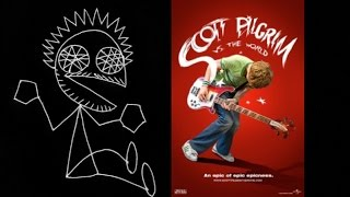 "Madhog Plays ""Vib-Ribbon"" Plays ""Scott Pilgrim Vs. The World"""