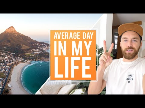 An Average Day in Cape Town South Africa