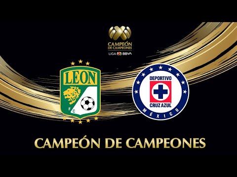 Resumen León vs Cruz Azul   Liga BBVA MX   Campeón De Campeones