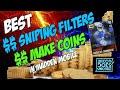 Madden Mobile 16 Best Sniping Filters Madden Mobile Coin Making Methods