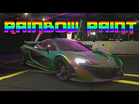 Forza Horizon 3 - RAINBOW PAINT