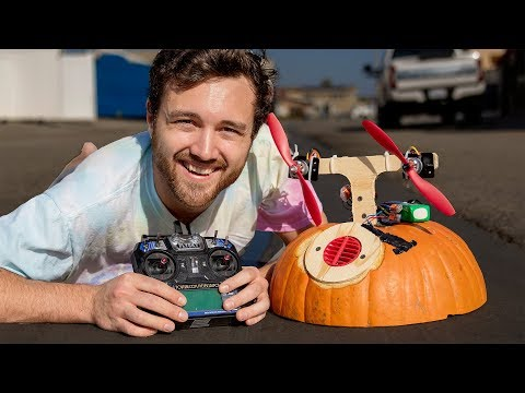 I Made A Pumpkin Hovercraft