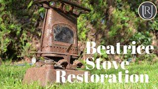 Parrafin Cooking Stove Restoration, Old Tool Restoration