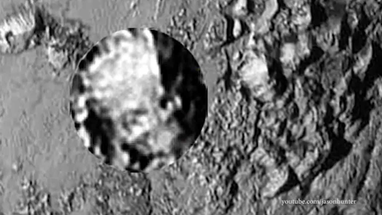 Download Face on Pluto? New Horizons Photo Shows Strange Stuff