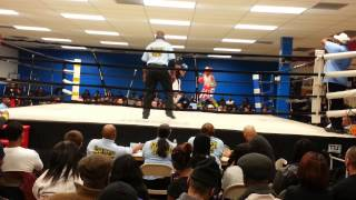 Kesean Bagwell Red Headgear vs Maximum Garland