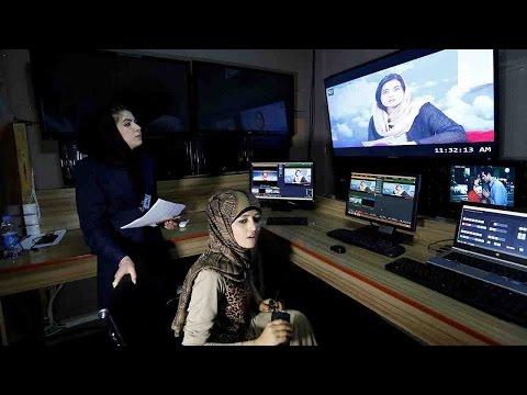 Afghan women break taboo with TV channel launch