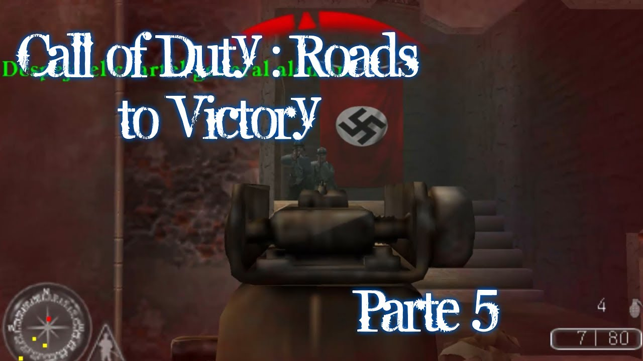 Call Of Duty Roads To Victory Gameplay Parte 5 Español Psp Youtube