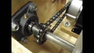 roller chain shaft sprocket of mechanical transmission