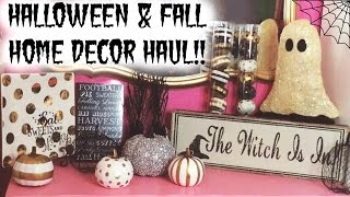Target dollar spot homegoods halloween fall decor haul 2016 free video and related media Target fall home decor
