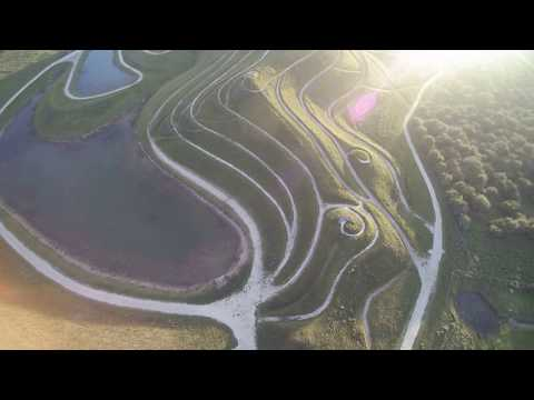 3rd Flight with yuneec typhoon q500 4k Drone Cramlington Northumberlandia