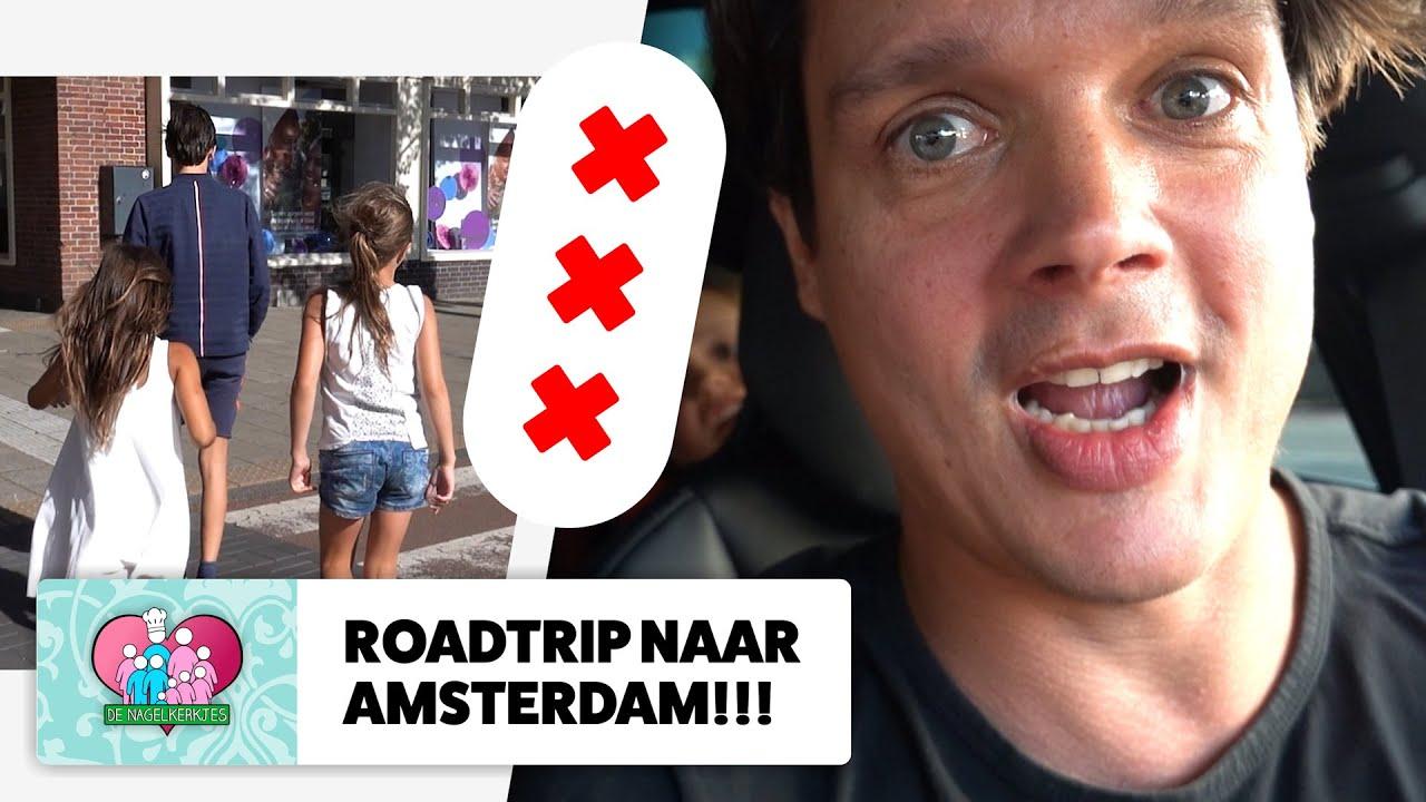 PAPA gaat met ZES KINDEREN naar HOOFDSTAD AMSTERDAM! ❌❌❌ - #652