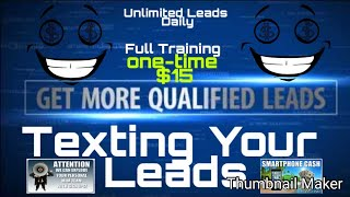 MLM Recruit On Demand Always Be Copying | Text Messaging Unlimited Leads Daily #MLMRecruitOnDemand