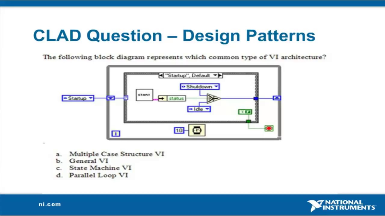 Certification Clad Labview Youtube