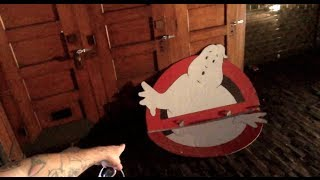 Inside The Ghostbusters Firehouse - Abandoned