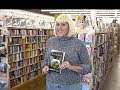 "Janet Kuypers reads her ""Monsters"" poems @ her Half Price Books reading 11/1/17 (Sony)."