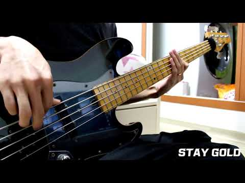 【Fairy Gone フェアリーゴーン ED2】STAY GOLD Bass Cover【(K)NoW_NAME】