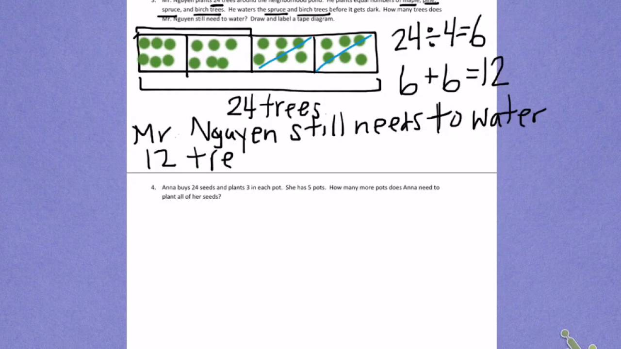Eureka Math 4th Grade Module 3 Lesson 21 - grade 4 ...