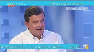 """Carlo calenda: """"rutelli come candidato ..."""