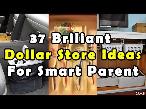 37 Brilliant Dollar Store Ideas For Smart Parent