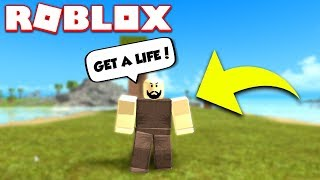 RESPONDING TO MEAN BOOGA BOOGA COMMENTS (ROBLOX)