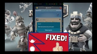 clash royale   Fixed Client and Server Out of Sync   Steps