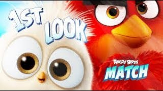 Angry Birds Match Start Game   Complete levels and invite new birds  android gameplay