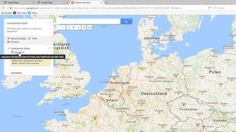 Adressen in einer Karte anzeigen